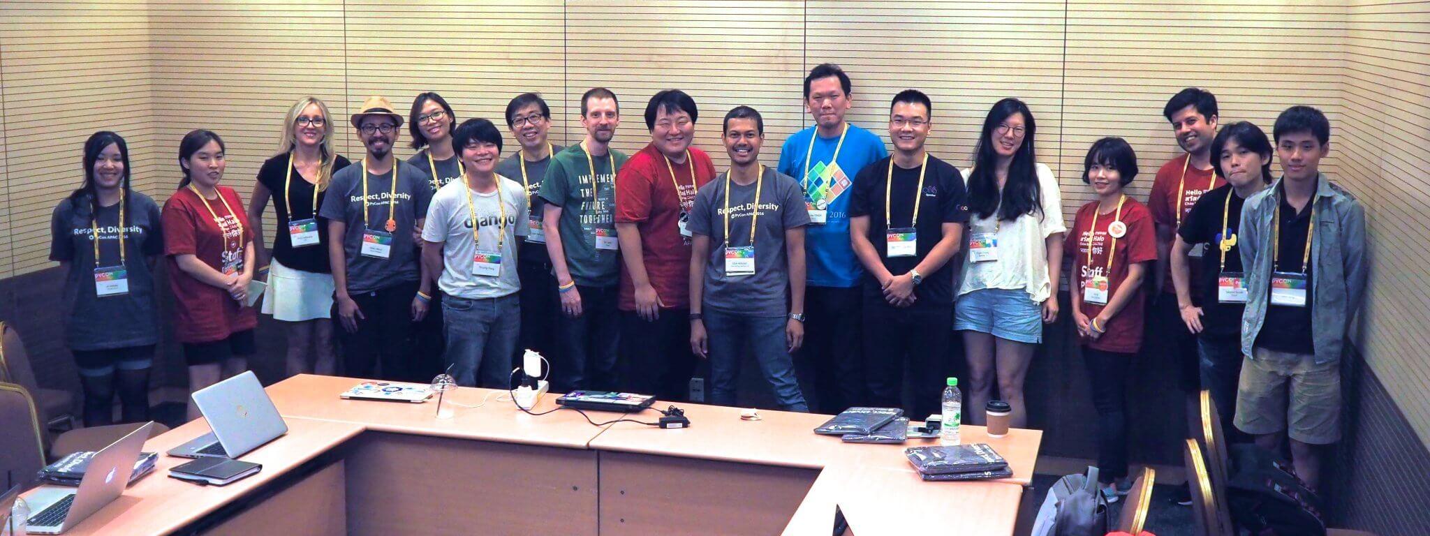 PyCon APAC meeting in Seoul 2016