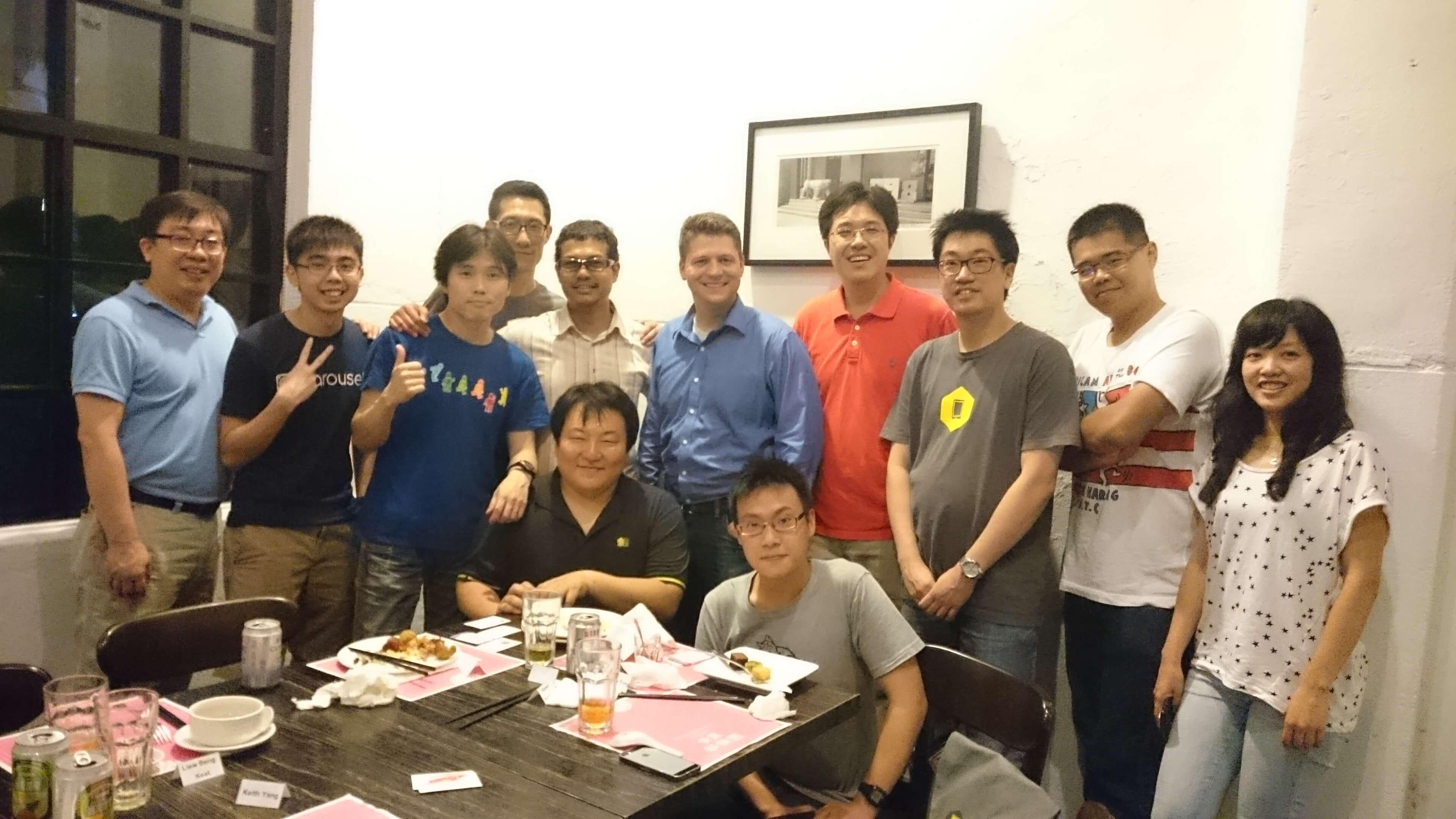 PyCon APAC dinner in Taipei